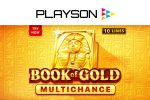 Discover untold riches in Playson's Book of Gold: Multichance