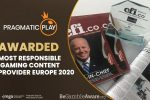 Pragmatic Play Awarded the Most Responsible iGaming Content Provider in Europe by CFI.co