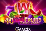 Gamzix launched a new slot game 40 Chilli Fruits Flaming Edition